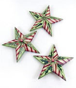 Dimensional Christmas Star Ornaments E-Pattern