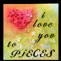 I Love You to Pieces E-Pattern By Sandra Malone