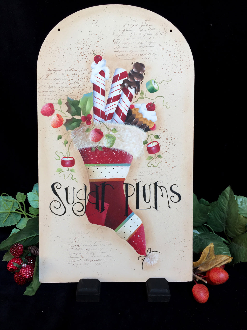 Sugar Plums E-Pattern By Sandra Malone