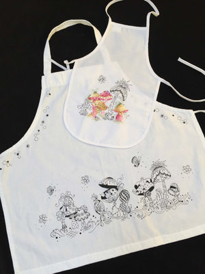 Mother Daughter Aprons E-Pattern By Sandra Malone