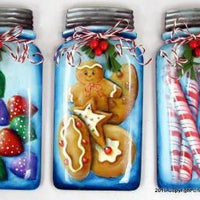 Mason Jar Treats Ornament Bundle