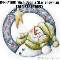 Wish Upon a Star Snowman Ornament