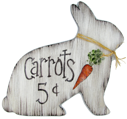 Carrots for Sale Rabbit E-Pattern by Chris Haughey