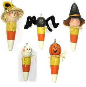 Candy Cone Fall Ornaments E-Pattern