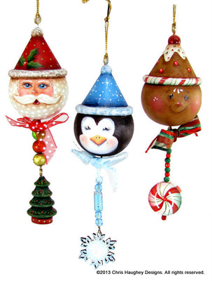 Christmas Dangler Buddies Ornaments E-Pattern