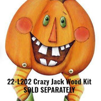 Crazy Jack Pumpkin E-Pattern