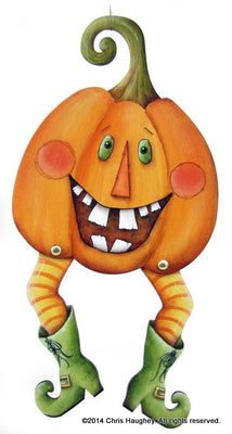 Crazy Jack Pumpkin Wood Kit