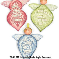 Heavenly Hosts Angel Ornaments E-Pattern