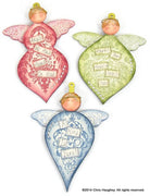 Heavenly Hosts Angel Ornaments Wood Kit