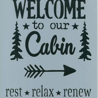 Welcome to the Cabin Pattern by Chris Haughey