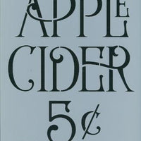 Apple Cider 5¢ Pattern by Chris Haughey