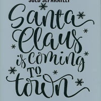 Vintage Santa Sign Pattern by Chris Haughey
