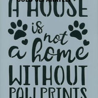 Paw Prints Pattern by Chris Haughey