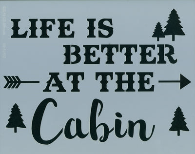 Life is Better at the Cabin
