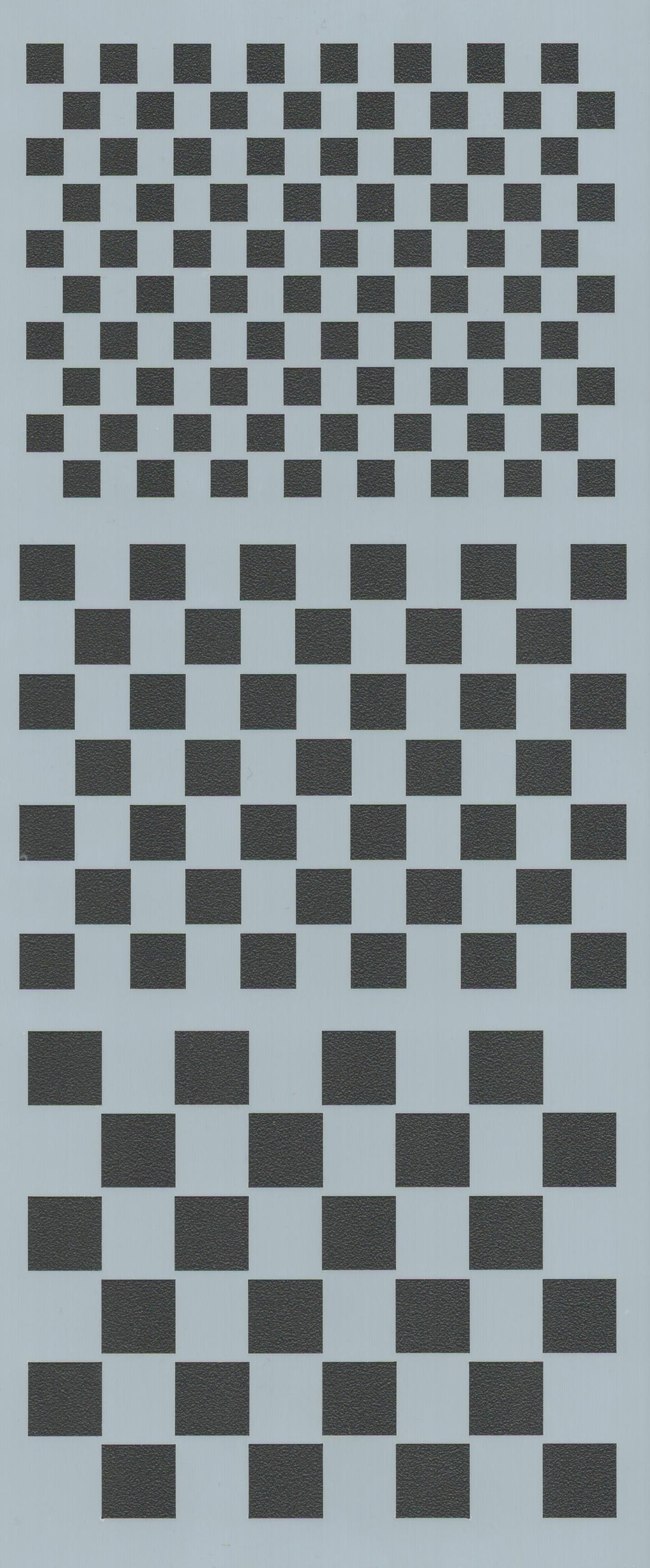 Checkerboard Background Stencil