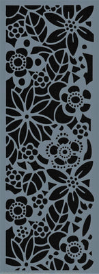 Mini Floral Background Stencil