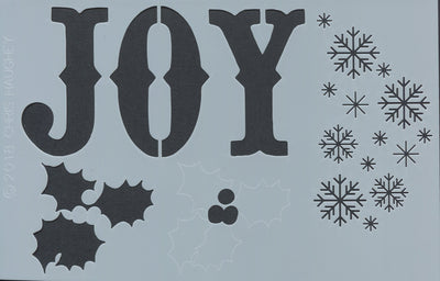 Chris Haughey's Joy Stencil