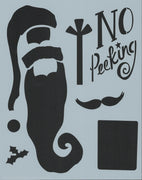 No Peeking Stencil