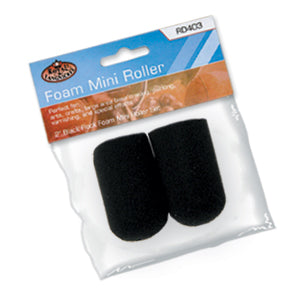 "2"" Foam Mini Roller Set Black"