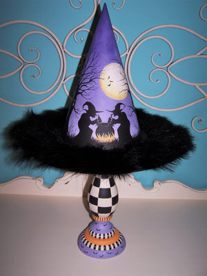 Double Trouble Halloween Centerpiece E-Pattern By Linda Hollander