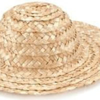 2 in. Straw Hats
