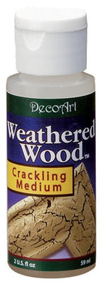 2 oz. Weathered Wood Crackle