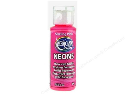 Sizzling Pink Fluorescent Acrylic Paint