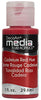 DecoArt Media Fluid Acrylics - Cadmium Red Hue (Series 3) 1 oz.