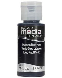Prussian Blue Hue Fluid Acrylic