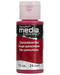Quinacridone Red Fluid Acrylic