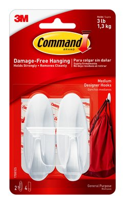 Command Medium Designer Hooks