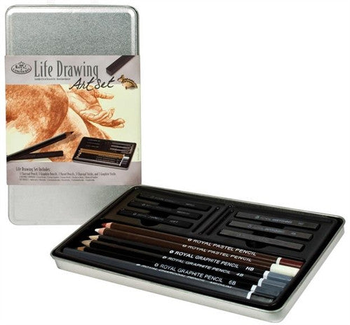 12-piece Life Drawing Art Set
