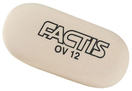 General's Traditional Soft Oval Eraser