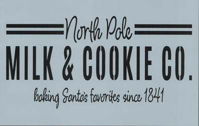 North Pole Milk and Cookie