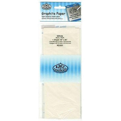 White Graphite Transfer Paper by Royal and Langnickel