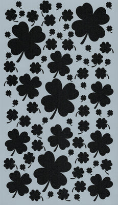 Clover Background Stencil