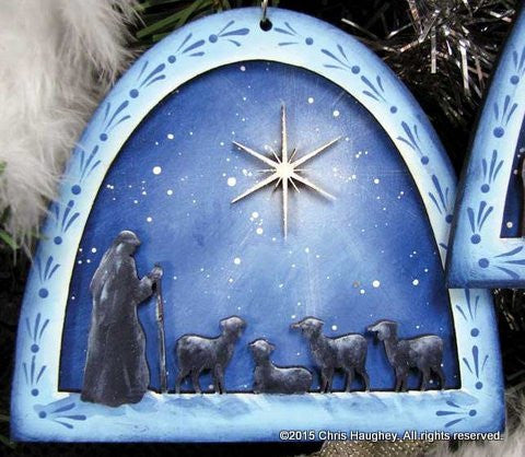 Shepherd Nativity Ornament