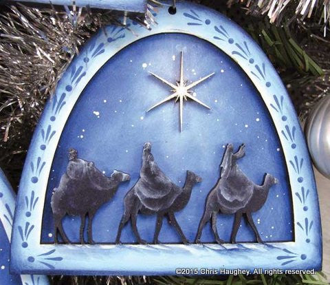 Wise Men Nativity Ornament