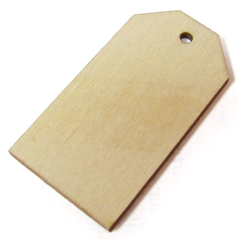 2-1/2 in. Traditional Wood Mailing Tag