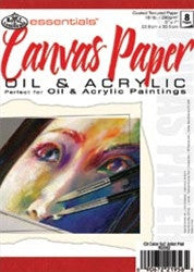 5 x 7 in. Artist Canvas Paper Pad