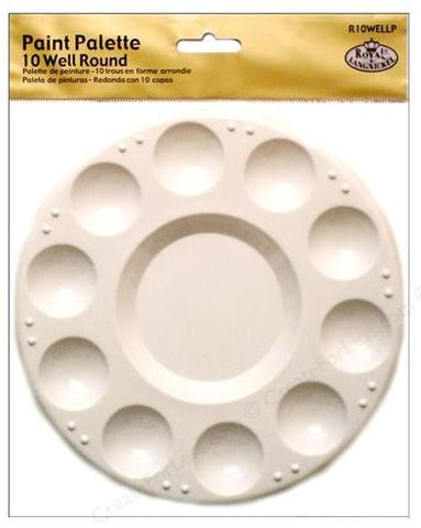 10-well Round Paint Palette
