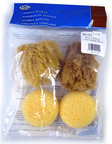 Natural & Synthetic Artist Sponges