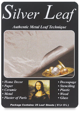 Mona Lisa Imitation Silver Leaf