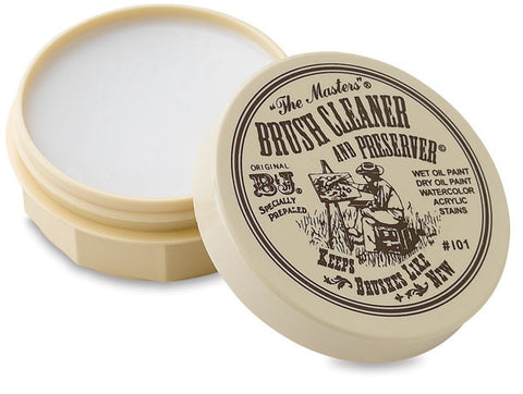 The Masters Brush Cleaner & Preserver Studio Cake