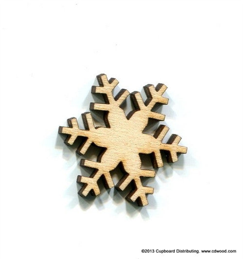 1-1/4 in. Blizzard Snowflake