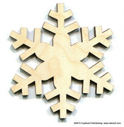4 in. Blizzard Snowflake