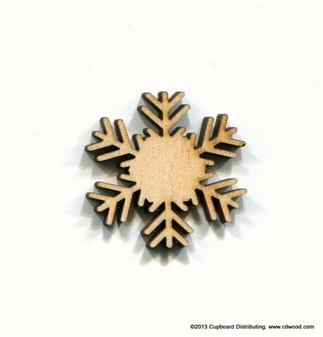 1-1/4 in. Frost Snowflake