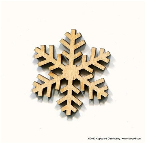 2 in. Sparkle Snowflake