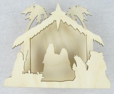 Jumbo Nativity Kit