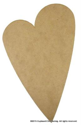 "14"" Whimsical Heart Plaque"